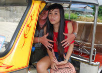 Thai tuk tuk girl