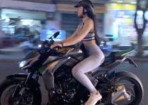 Sexy Saigon motorbike