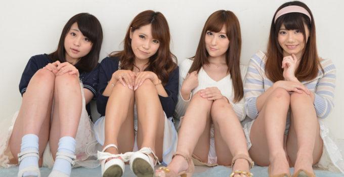 Japanese panty upskirts