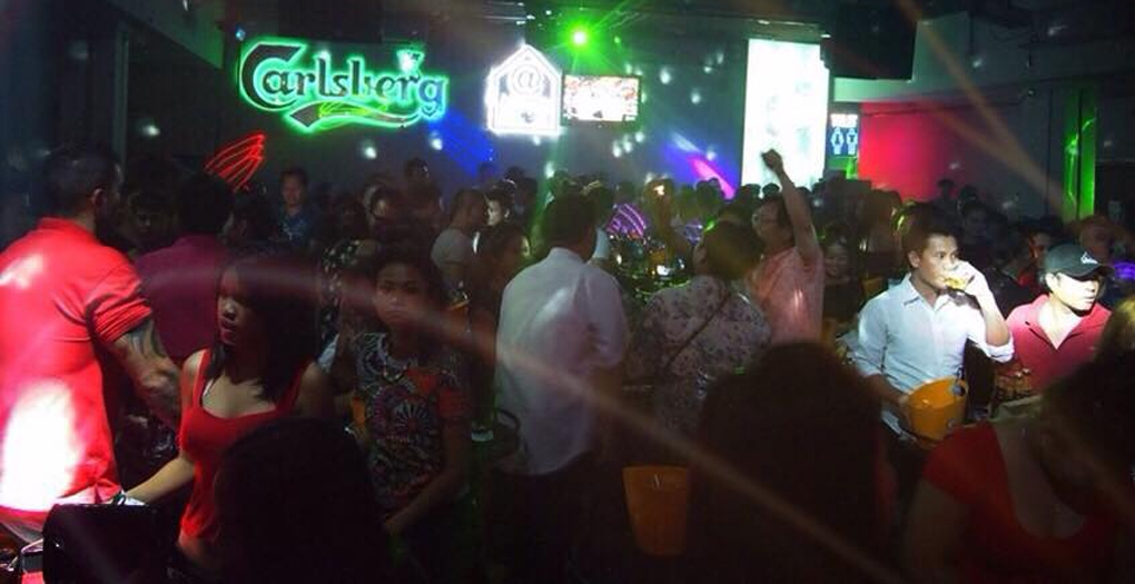 @Home club in Vientiane