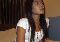 Brown Khmer girl