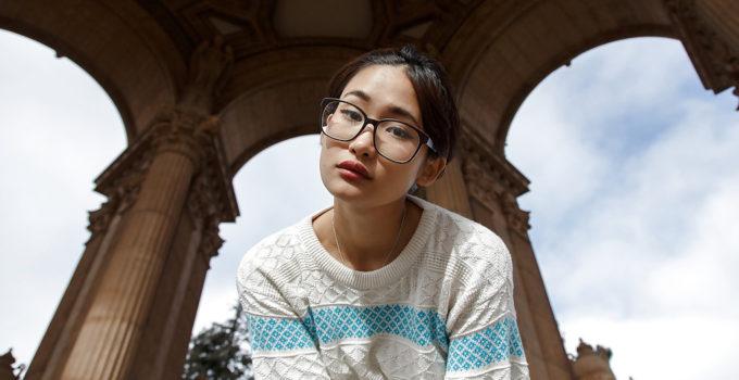 cute Asian girlfriend