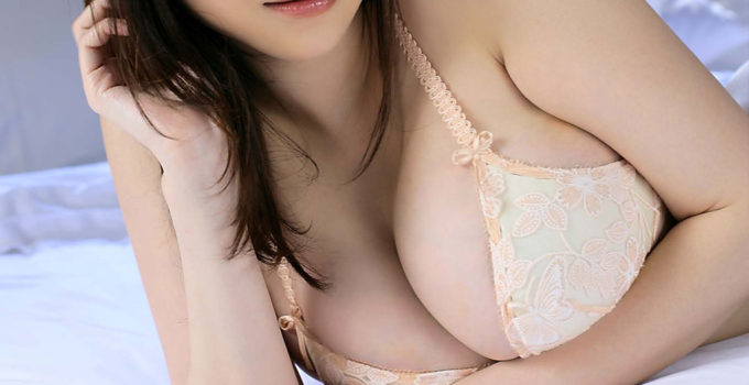 big Japanese boobs in bra