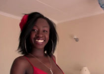 smiling African beauty