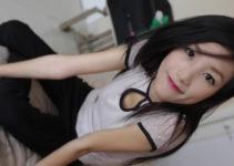 Thin white Asian
